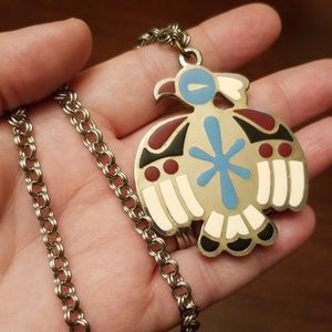 Vintage Thunderbird Necklace